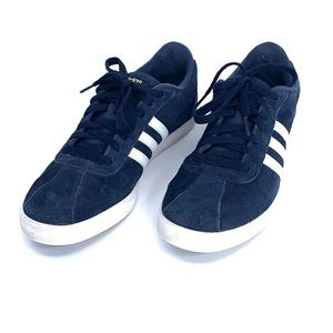 Adidas neo comfort footbed size 10 blue white